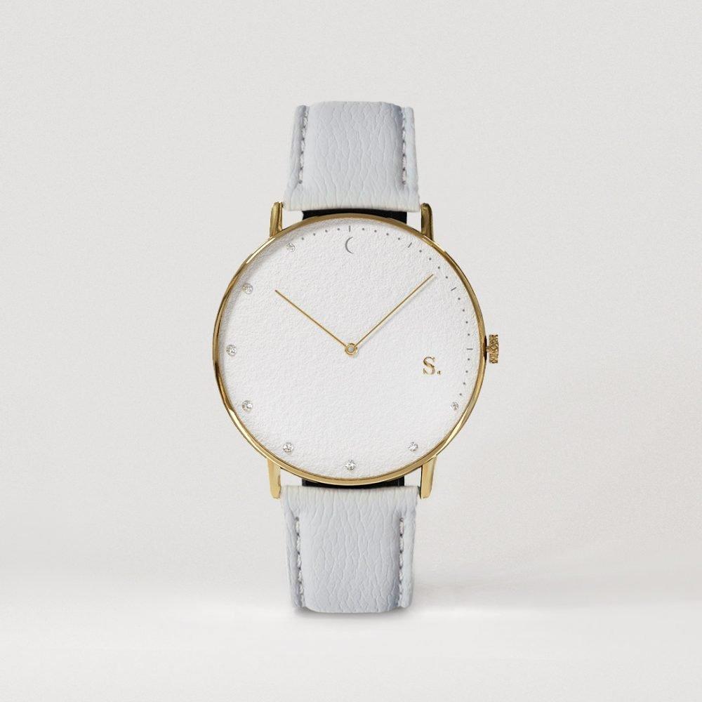 Sandell Bright Day Gray Strap Watch