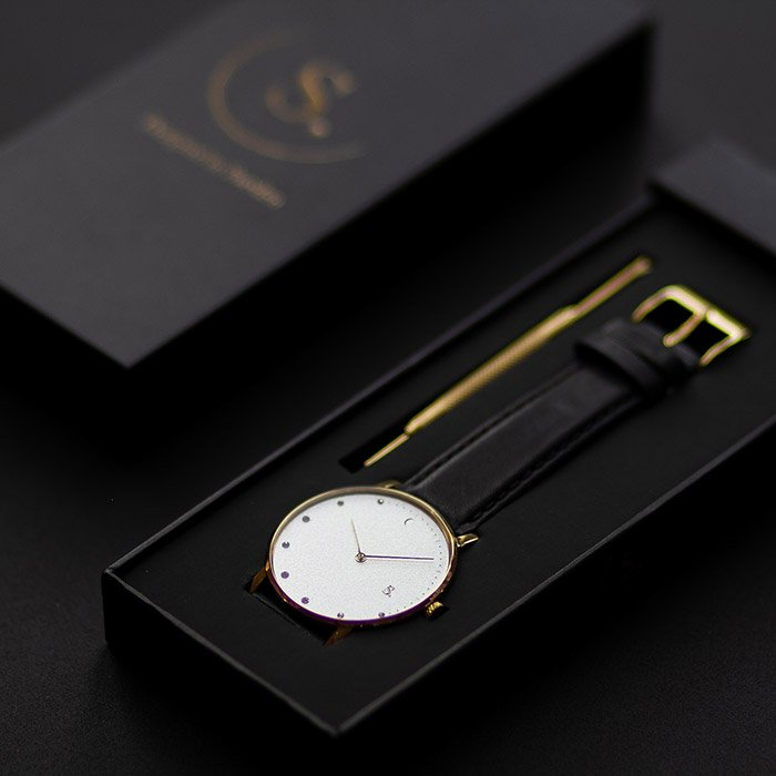 ECO-collection of watches vegan strap Sweden Sandell Sandell watches
