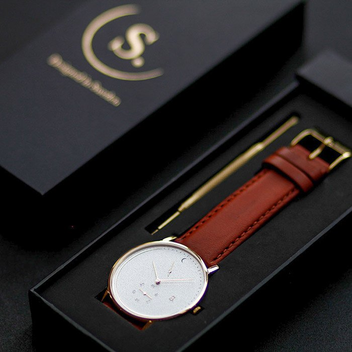 ECO-collection of watches vegan strap Sweden Sandell